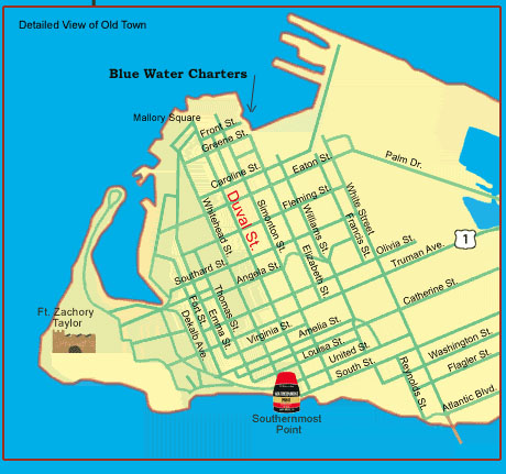 Rates Amp Information Blue Water Charters Key West